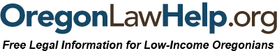 Oregon Law Help logo/link